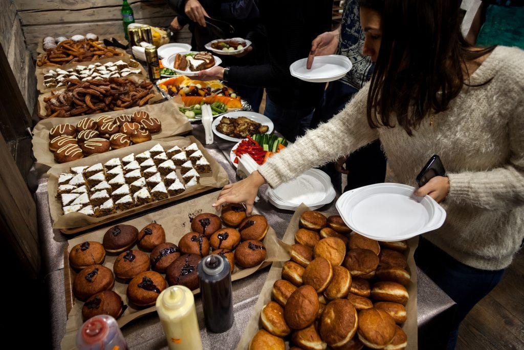 מבחר מאכלי החג