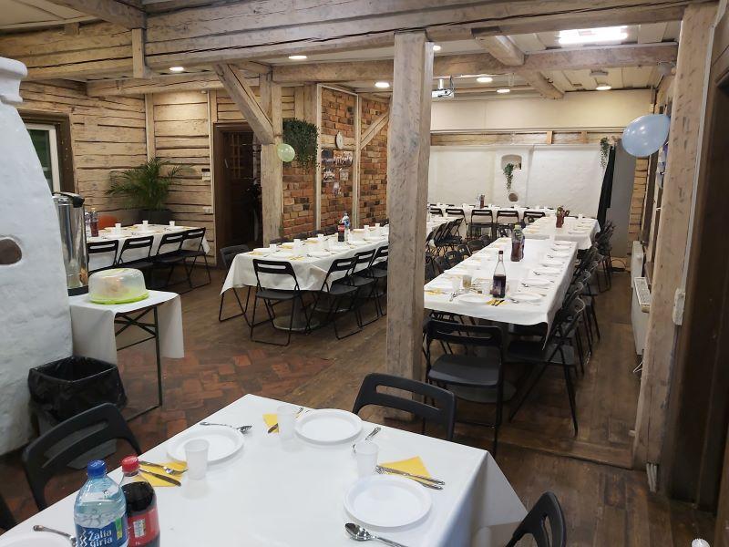 סעודת שבת במרכז היהודי קובנה