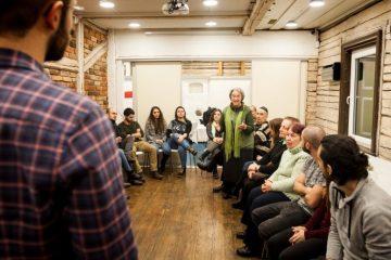 מפגש סטודנטים ומבוגרים יהודים מקובנה